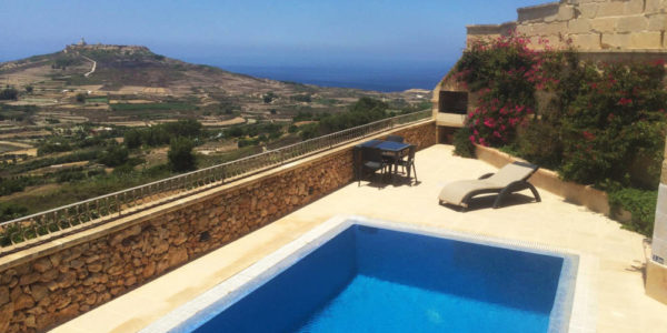 Zebbug Farmhouse Pool Deck